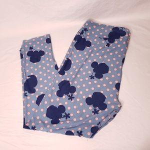 Disney LulaRoe Size TC2 Leggings Minnie Mouse